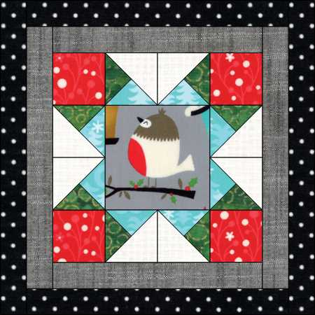 Happy Little Things BOM month 2, design by Jacquelynne Steves.