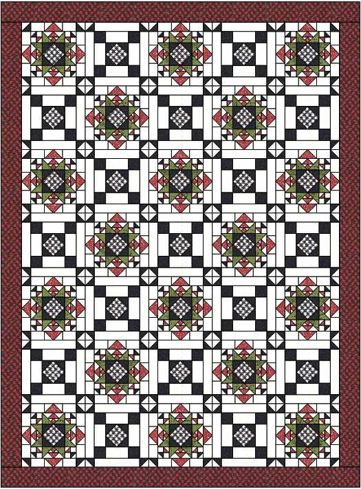 A new pattern designed by Julie Cefalu @ The Crafty Quilter is coming soon.