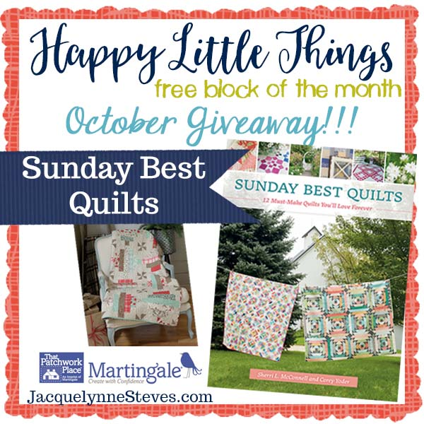 Happy Little Things Month 3 giveaway