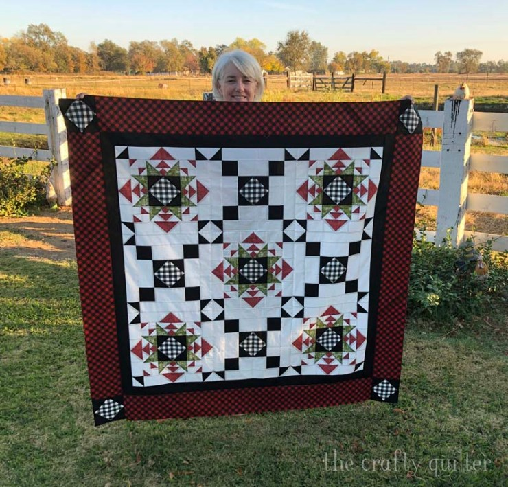 New pattern, Lincoln Stars by Julie Cefalu @ The Crafty Quilter