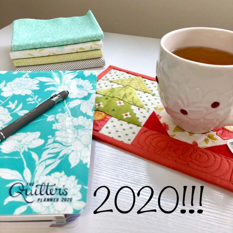 Making plans for 2020 @ The Crafty Quilter