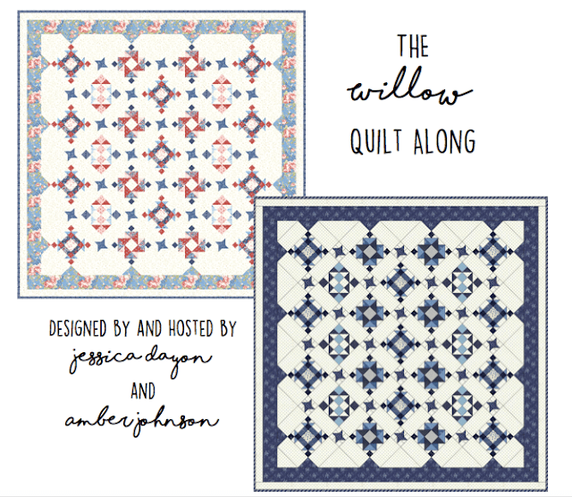 The Willow Quilt Along @ Jessica Dayon and Gigi's Thimble.