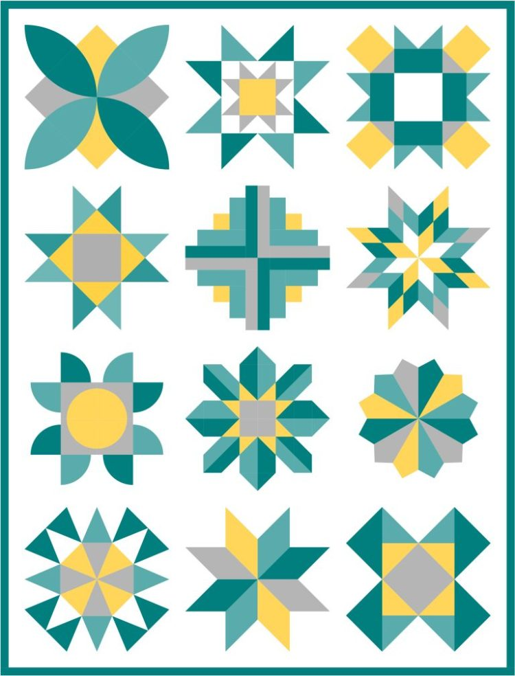 Online Quilting Bee Skill Builder @ On Williams Street.