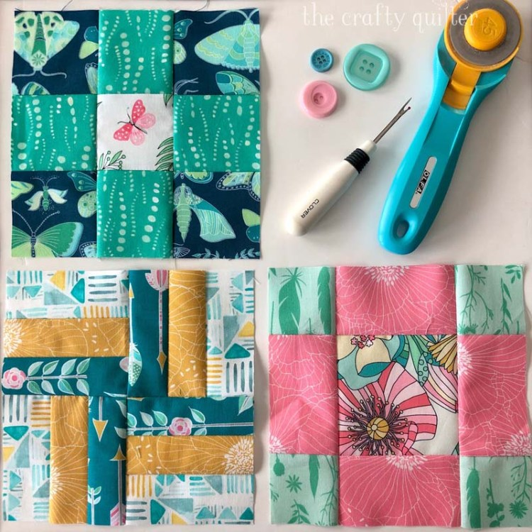 Projects and UFO's and cooking at The Crafty Quilter include these quilt blocks from the free Silver Linings Sew Along by Jacquelynne Steves.