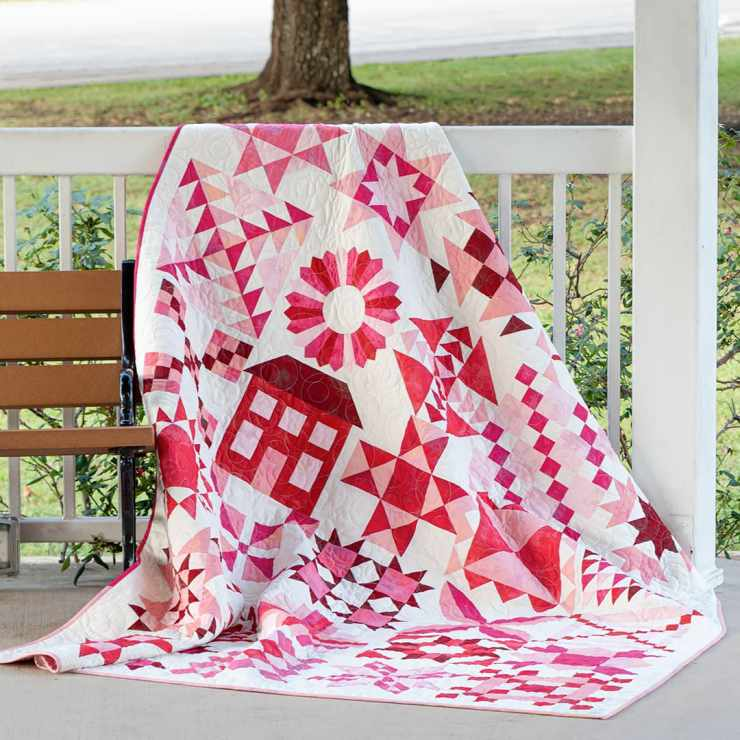 The latest Quilt-y update includes the Stitch Pink 2020 Quilt Along from Fat Quarter Shop and Moda Fabrics.