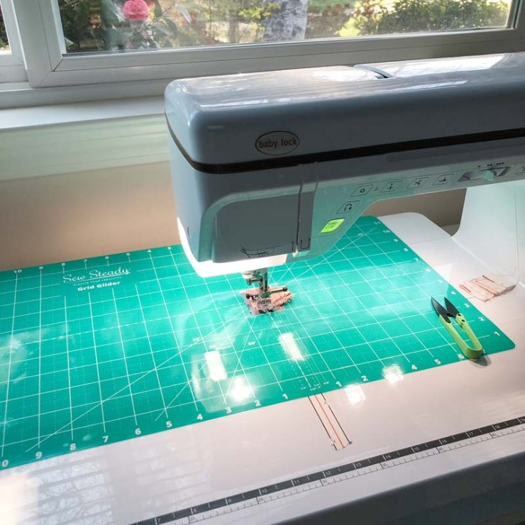 I have some new quilting tools to tell you about including this Sew Steady Grid Glider. @ The Crafty Quilter