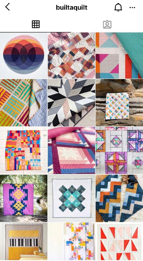 Check out the Instagram feed of @Builtaquilt for tons of inspiration!