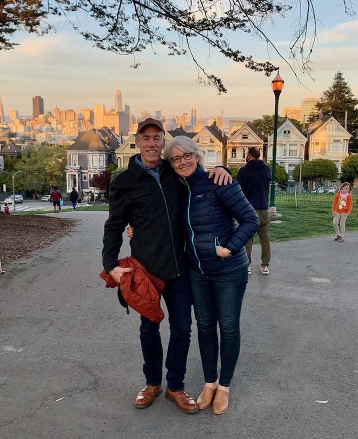 Julie & Allen Cefalu in San Francisco, CA.