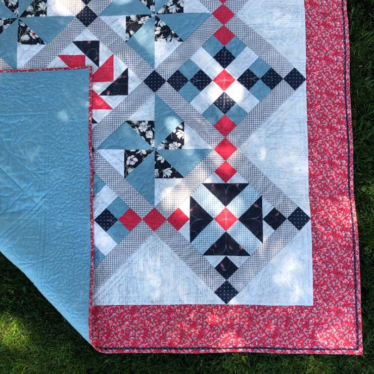 Possibilities Quilt made and designed by Julie Cefalu @ The Crafty Quilter