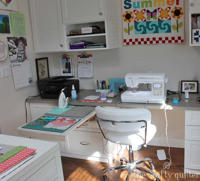 Three ways to make your sewing space more efficient @ The Crafty Quilter
