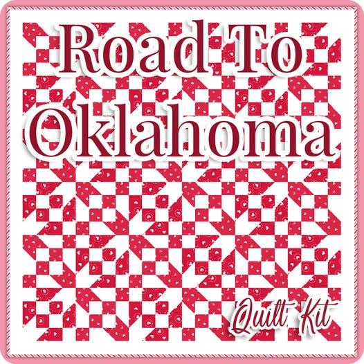 Road to Oklahoma Quilt Kit @ Fat Quarter Shop