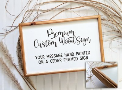 The ultimate custom wood sign & decor guide for people who decorate