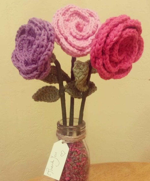 Recycled Forever Roses