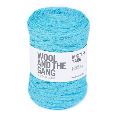 Wool and the Gang Mixtape recycled yarn