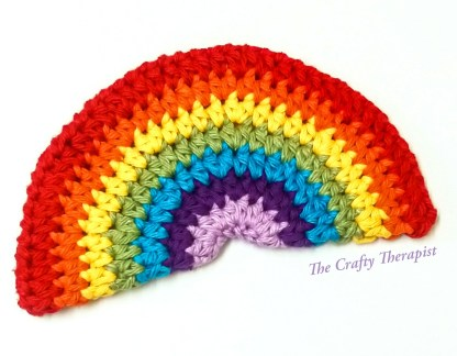 free rainbow crochet pattern - The Rainbow of Gratitude