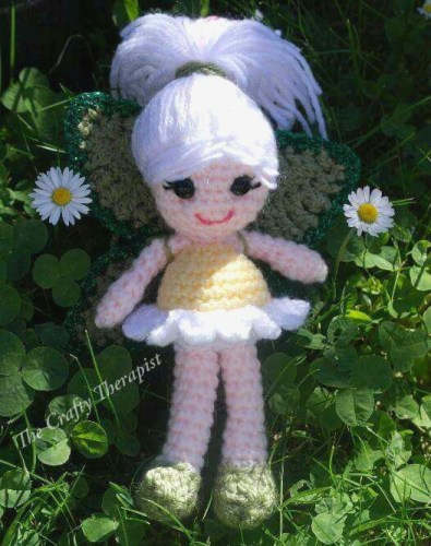 Daisy Flower Fairy by The Crafty Therapist - Floral crochet patterns round-up