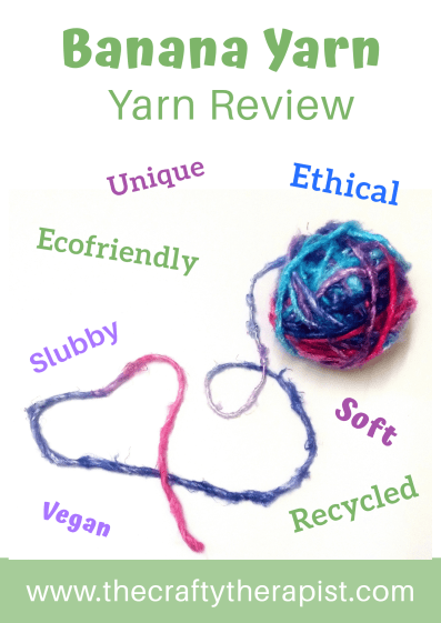Pinterest graphic banana yarn review