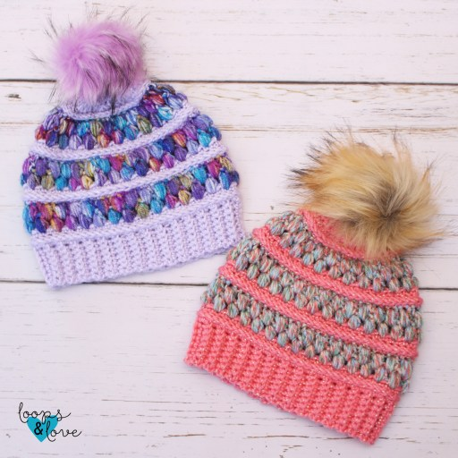 free crochet hat pattern Jelly Beanie