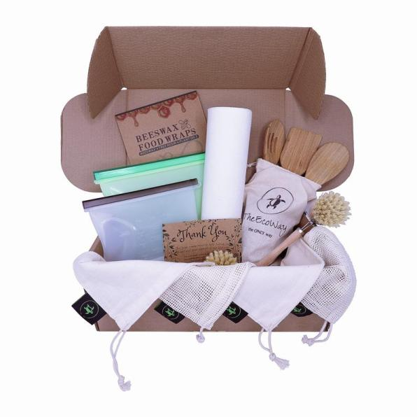 Ultimate Eco Friendly Kitchen set by The Eco Way on 10 Eco Friendly Gift Ideas by The Crafty Therapist