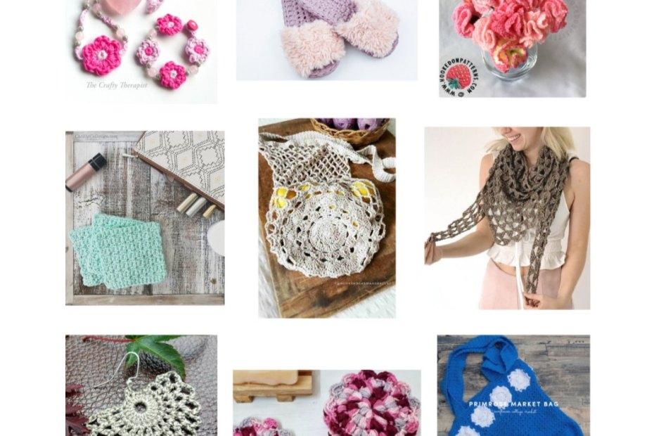 Collage crochet gift ideas