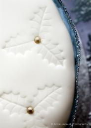 Christmas cakes detail