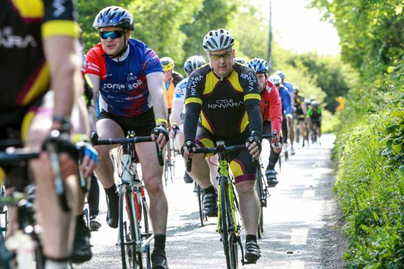 Croi, charity cycle around Lake Corrib 2015