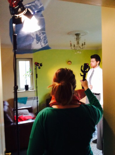 Students Of The Fulltime Free FEETAC Level 5 Film Course At VTOS Galway Set Cameras