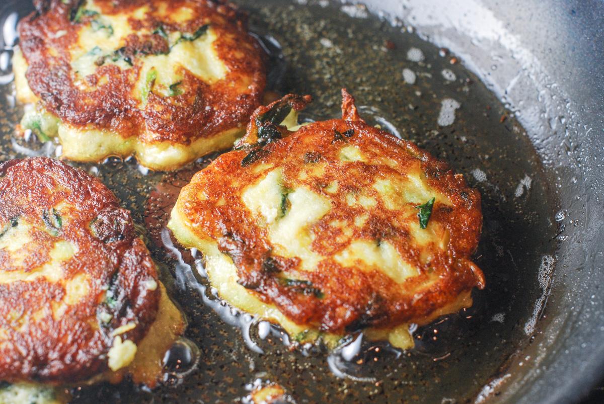Colcannon Potato Cakes