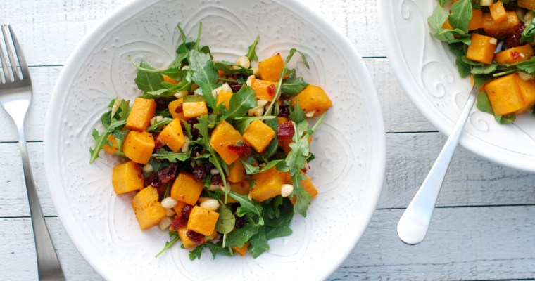 Butternut Squash and Arugula Salad