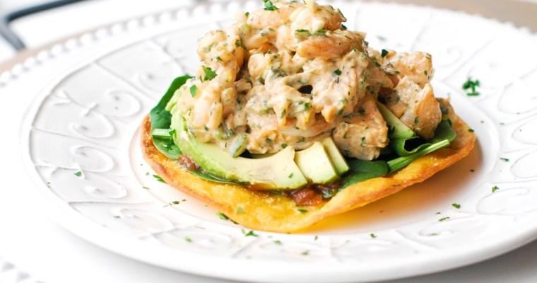 Spicy Cilantro Shrimp Salad