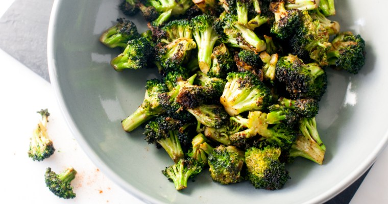 Charred Paprika Broccoli
