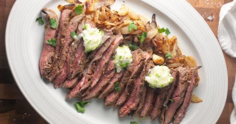 Churrasco Steak with Serrano Butter