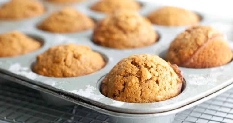 Sweet Potato-Almond Butter Muffins