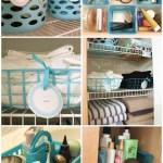 Dollar Store Bathroom Organizing The Crazy Craft Lady