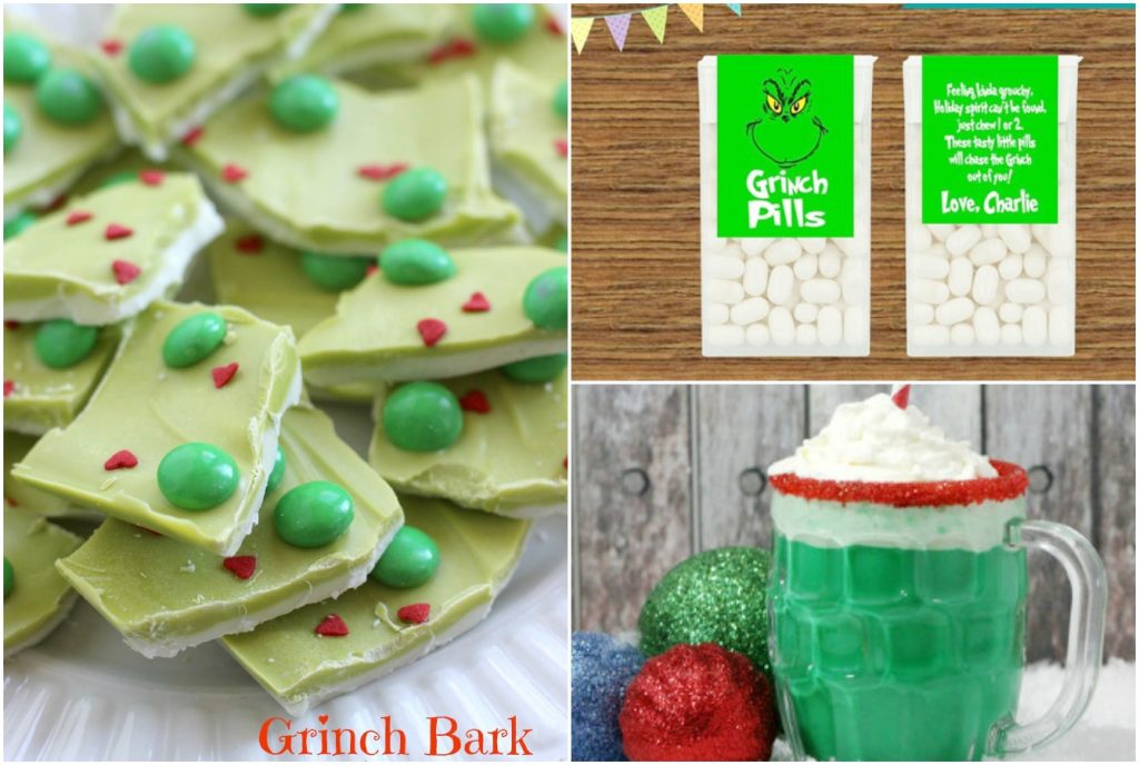 Grinch Crafts and Recipes for Christmas - inspiration for crafts, sweet treats, and handmade gifts inspired by How the Grinch Stole Christmas