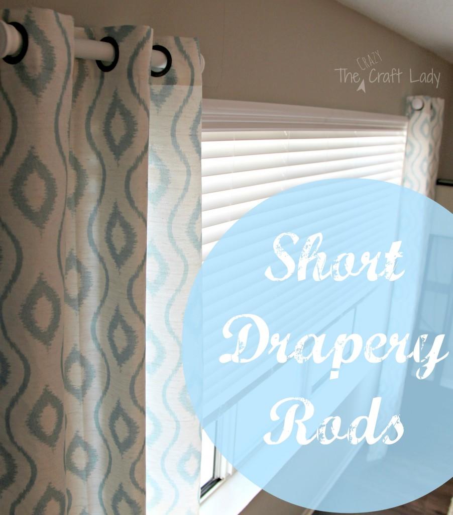 Short Drapery Rods