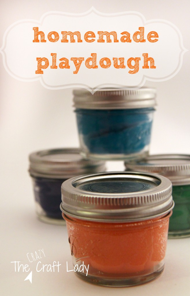 Homemade Playdough & Printable Recipe Card