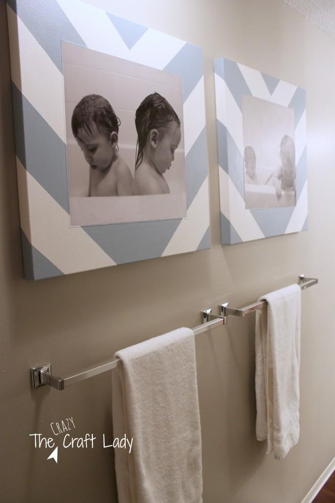Bath Time Photos and DIY Canvas Prints