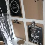 FREE Thanksgiving Chalkboard Printables