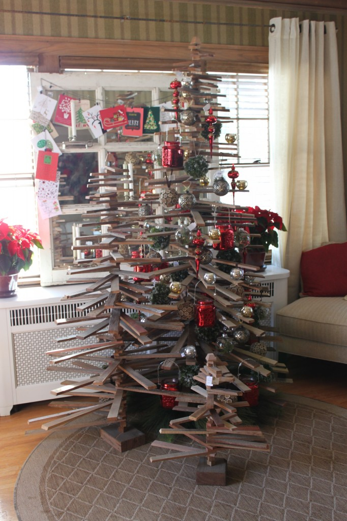 A crafty spin on a Christmas tree - the Winter Ideas House 2014