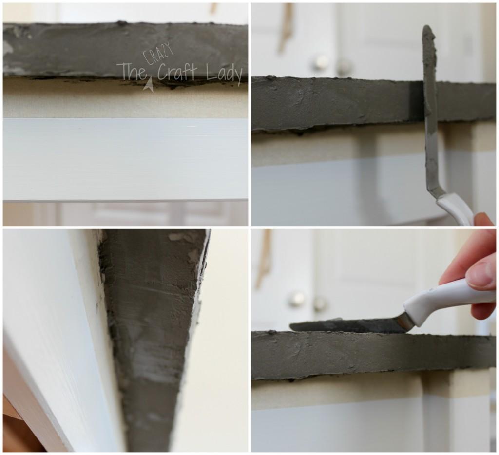 DIY Concrete Table Tops - a tutorial