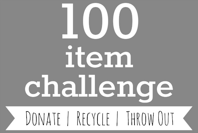 Take the 100 Item Challenge