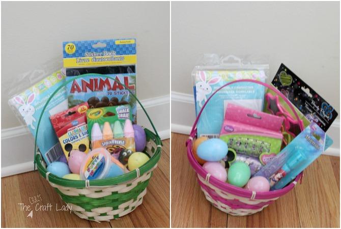 Toddler-Approved Dollar Store Easter Basket Ideas