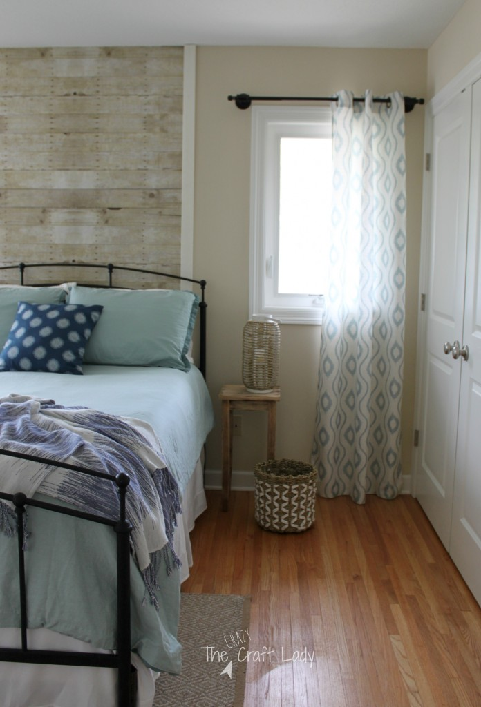 This is a beautiful Cape Cod coastal inspired master bedroom full of TONS of DIY and affordable home decor projects. A peaceful retreat and organized space.