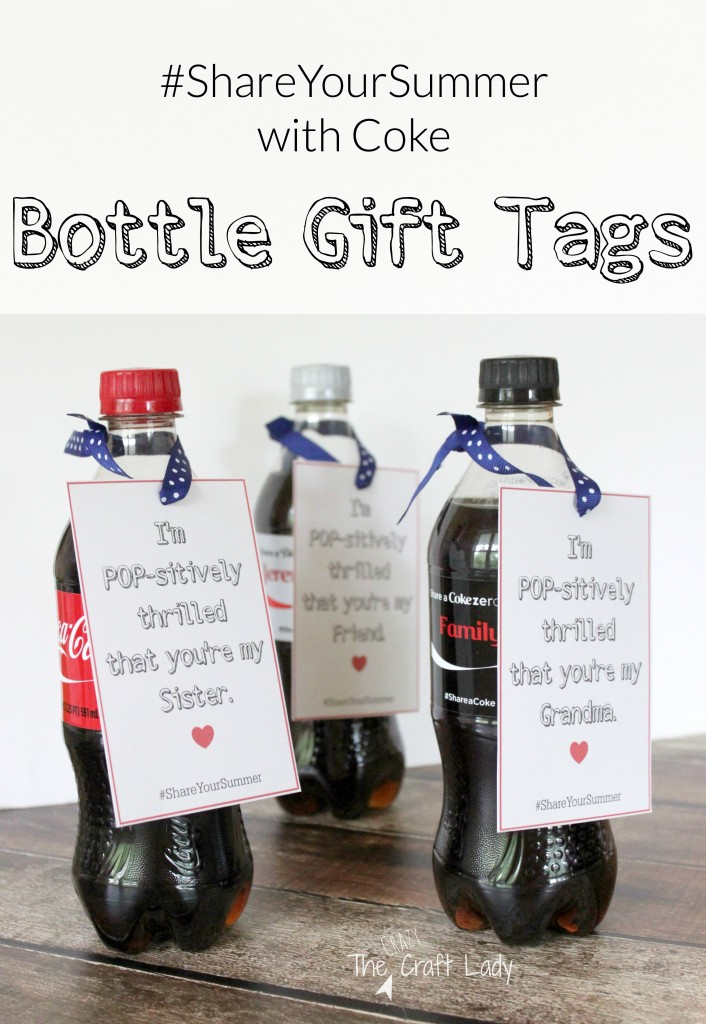 #ShareYourSummer with Coca-Cola! Print these free, customizable gift tags to share a personalized bottle of Coca-Cola with someone special this summer.