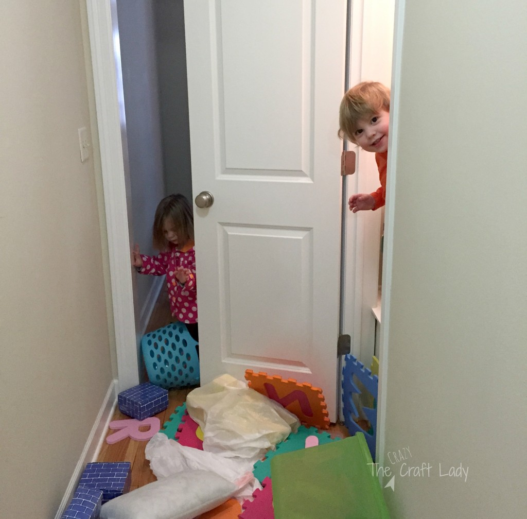 """A Playroom in a Closet - the """"before"""""""