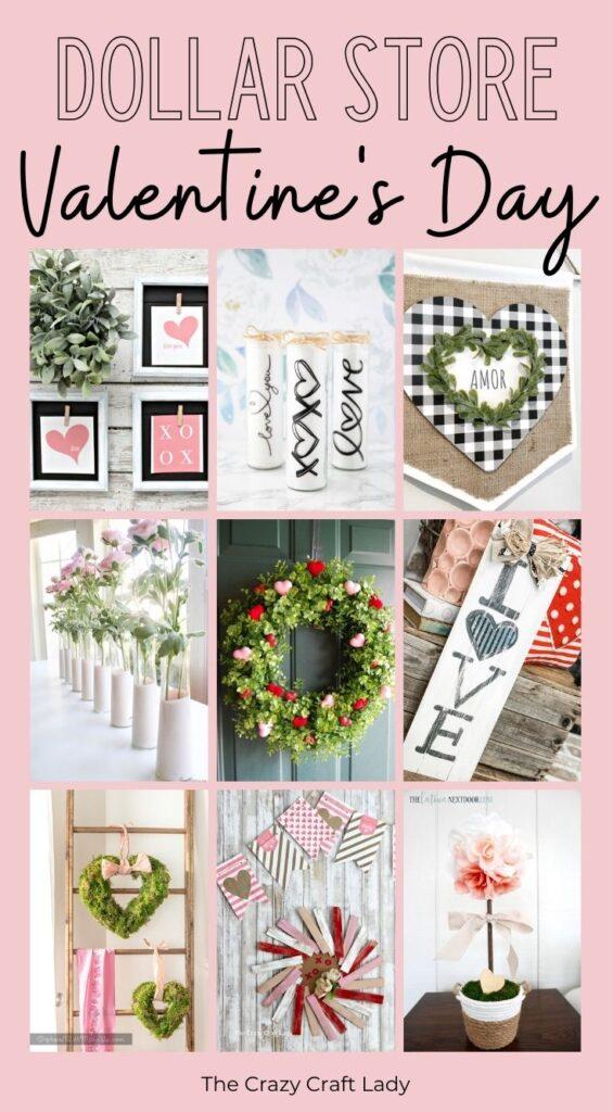 Dollar Store Valentines Day