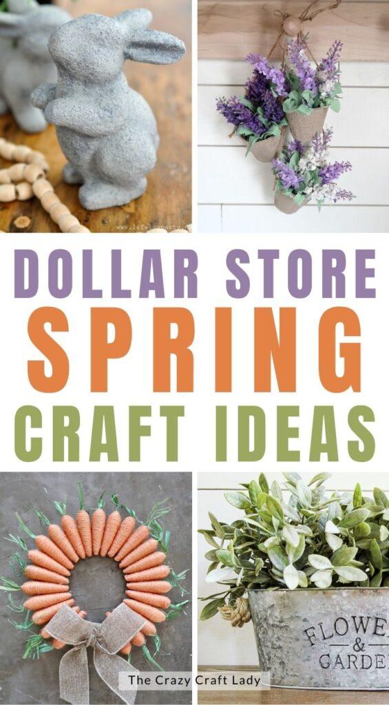 Dollar Store Spring Craft Ideas