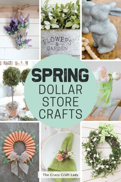 Spring Dollar Store Crafts