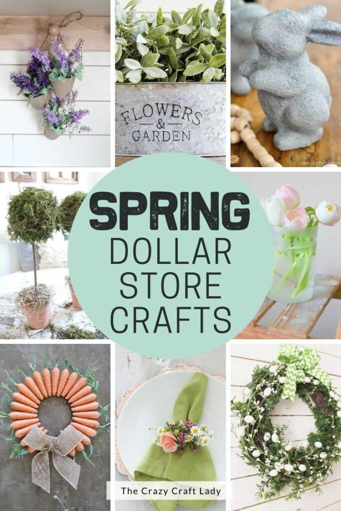 Spring Dollar Store Crafts